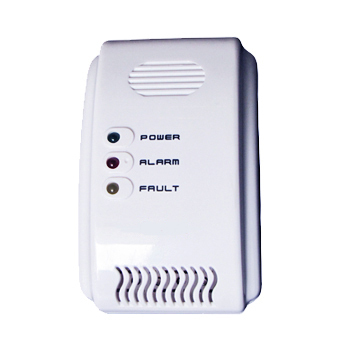 Combustible LPG Gas Detector Independent Alarm Unit 220VAC With Fault Light, Alarm Light, Power Light  | Wholesale & Retail
