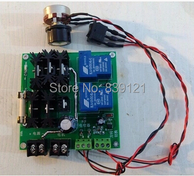 ФОТО 24 v voltage 30 a positive &negative dc motor driver board, governor