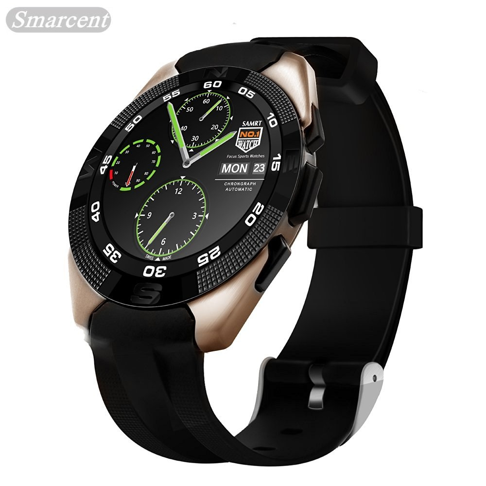 G5 Sport Bluetooth 4.0 Smart Watch With Fitness Tracker Heart Rate Monitor SMS Call Reminder Ultra Thin Touch Screen smartwatch sunkinfon sg5 smart watch mtk2502 sport smartwatch heart rate monitor fitness tracker call sms reminder camera for android ios
