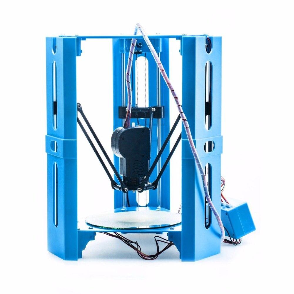 Mini DIY De Bureau 3D Imprimante Poulie Version Linéaire Guide Plus impresora 3D Grande Impression Taille impriman 3d imprimante bricolage kit