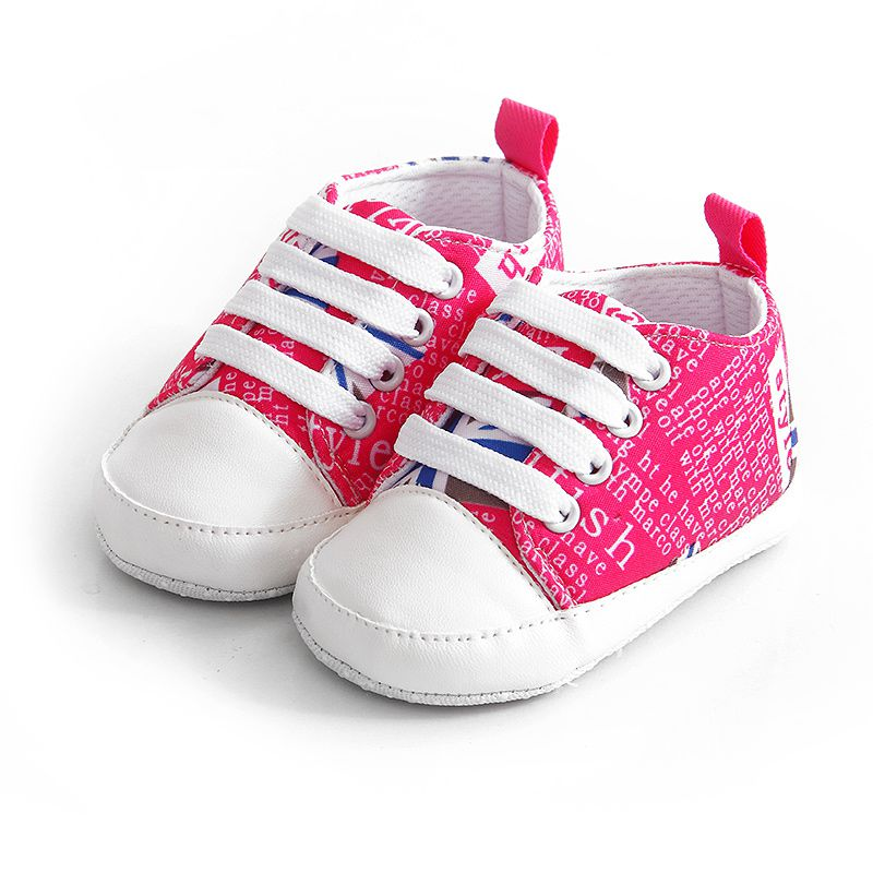 Newborn Baby Boy Girl Shoes Soft Sole Shoes Sneaker Newborn Casual Soft Bottom Anti-skid Shoes 2018