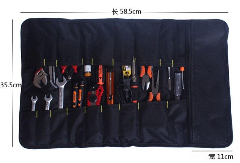 1 PC Tools qese Plier Screwdriver Xhepi rrotull çanta / Rasti / - Magazinimi dhe organizimi në shtëpi - Foto 3