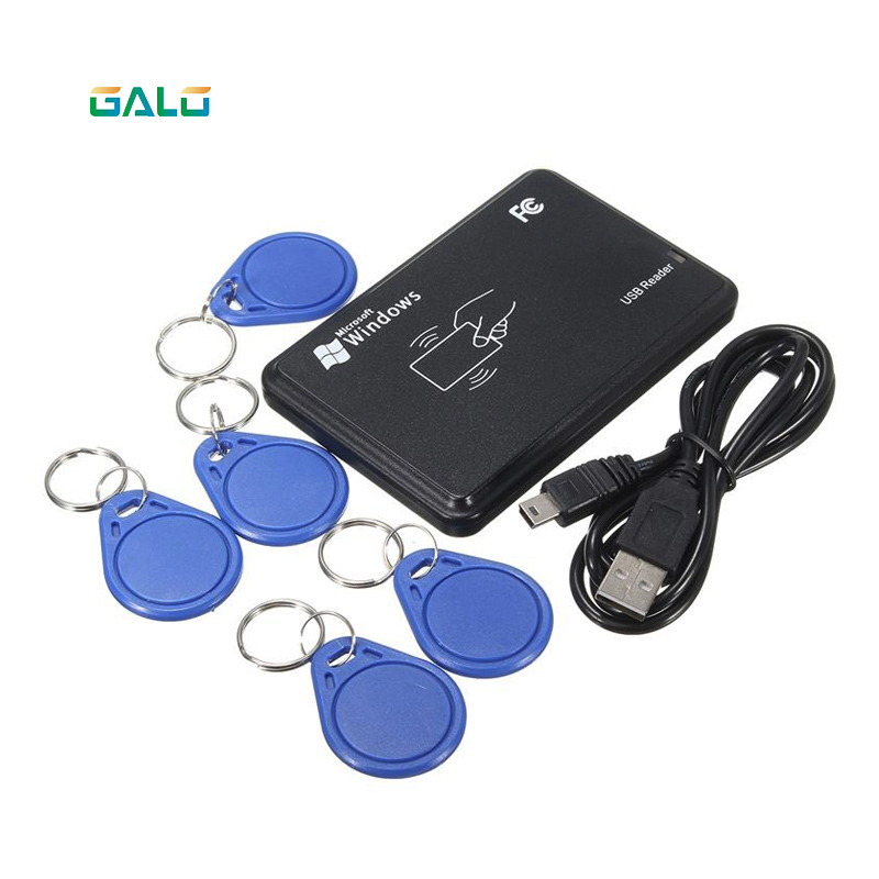 Galo NEW USB 125khz RFID Read  With 5 Tags Data Retention Durable Quality