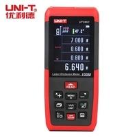 Лазерный дальномер UNI T UT395C 100 м  прибор для лофтинга  определения площади  угла громкости  охоты  ПК  по для хранения данных  USB Con