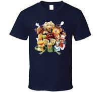 The Muppets Characters T Shirt Short Sleeve T Shirt Funny Print Top Tee Low Price Round