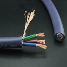 Furukawa Pure koper multi dirigent power draad kabel voor DIY audiophile versterker Cd speler Power cable meter Bulk power draad