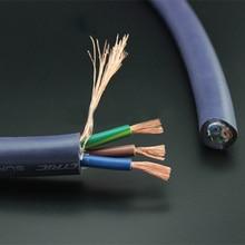 Furukawa النحاس النقي متعدد موصل سكل طاقة كابل لتقوم بها بنفسك السمعية مكبر للصوت مشغل أقراص مضغوطة الطاقة كابل القياس سكل طاقة السائبة