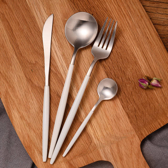 Creative Durable Eco-Friendly Stainless Steel Cutlery Set