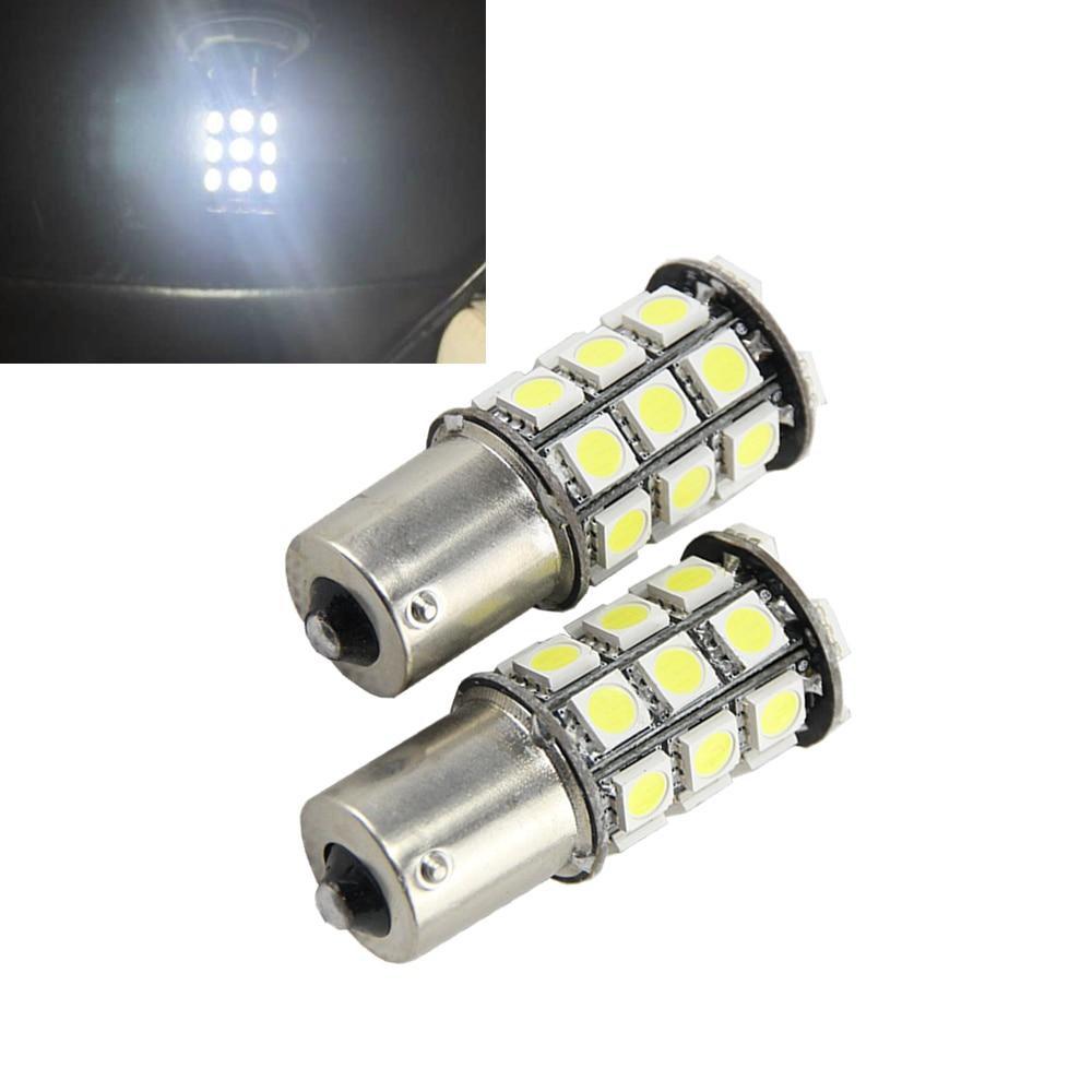 510LM Super Bright 12v 1156 5050 27-smd S25 1141 1003 7506 LED Bulbs for Back Up Reverse Lights,Brake Lights,Tail Light,Rv light