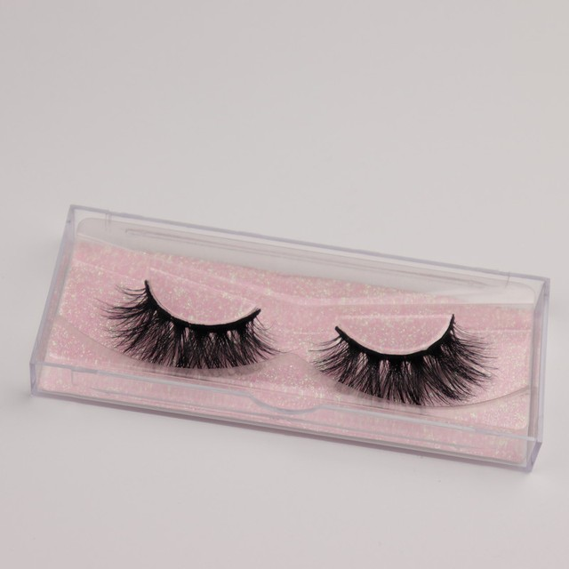 Mink Eyelashes 3D Mink 100% Cruel Eyelashes Handmade Natural Reusable Small Eyelashes False Eyelash Makeup Eye 4