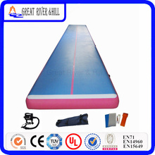 Great River Hill Inflatable Sports Equipment For Fitness Training All Made By Hand 10m x 2m x 0.20m For Sale