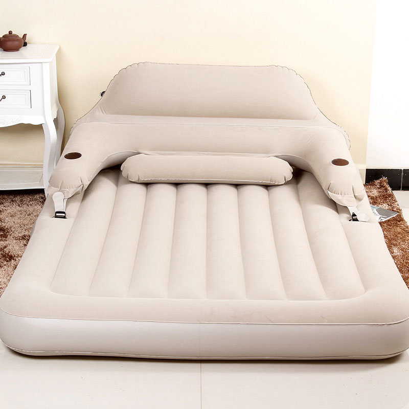 Multifunctional Inflatable Sofa Pvc Bed Folding Beds Outdoor Furniture Bedroom Portable Soft Guest For 2 Person