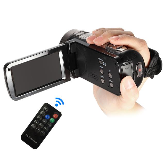 Digital Video Camera Camcorder 3.0″ LCD Touch Screen DV 24MP 1080P Full HD HDMI AV Night-Shot Remote Control Digital Camera