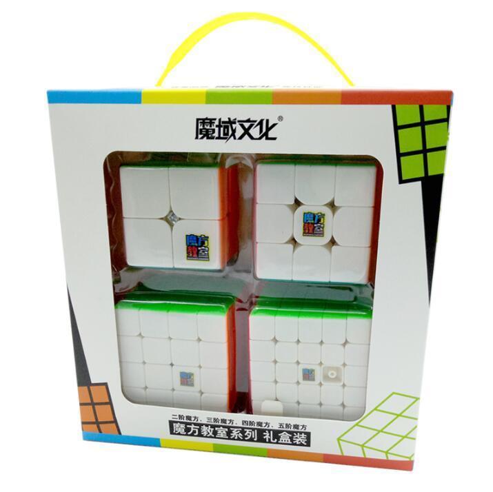 MoYu Mofangjiaoshi 2x2 3x3 4x4 5x5 Speed Cube Gift Box Packing Professional Puzzle Cubing Classroom MF2S MF3RS MF4S MF5S Cube
