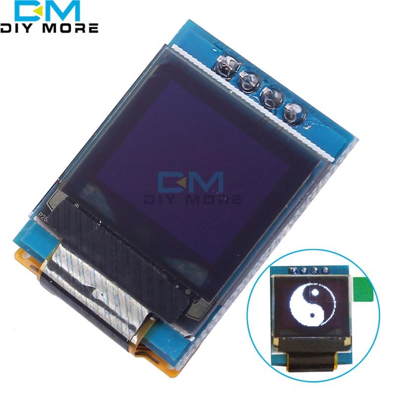 White 0.66 inch OLED Display 4PIN Module 64x48 0.66 LCD Screen IIC I2C for Arduino AVR STM32