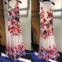 Платье высокого качества сексуальное летнее платье женское платье с кристаллами для ногтей с пайетками veautiful цветочные платья для женщин э