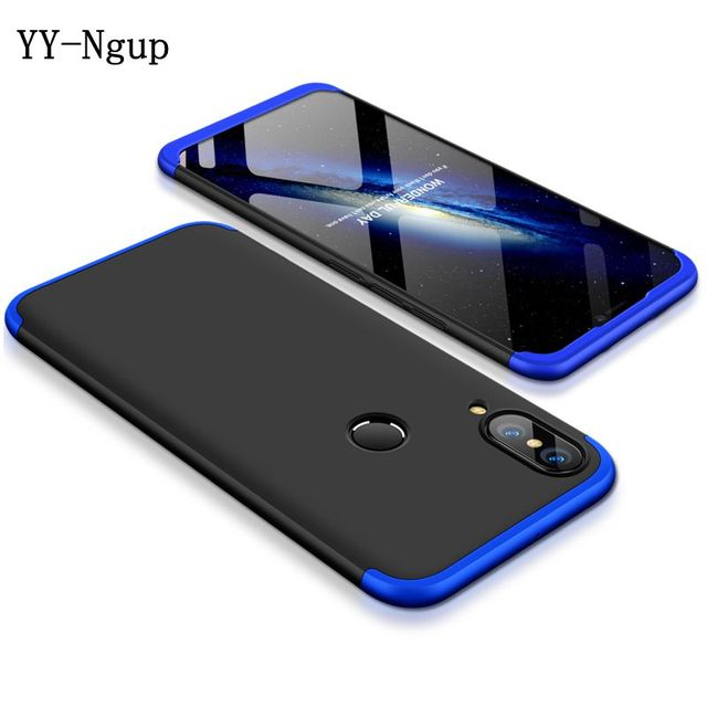sports shoes 808c0 d556e US $3.98 15% OFF|Honor 8X Max Case Cover 360 Full Phone Case on for Funda  Huawei Honor 8X Max Honor8X Protection Case 3 in 1 Carcasa women men-in ...