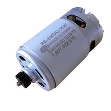 Micro DC Motor RS-550VC-7527 14.4V with 14 Teeth gear for CT3001E  Electro-hydraulic pressure clamp 20t split hydraulic clamp force clamp clamp pressure range 16 300mm2 maximum stroke 20mm with manual hydraulic pump