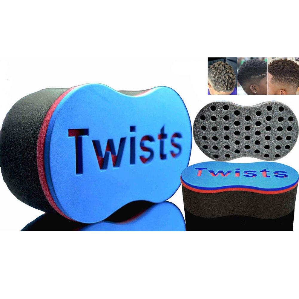 Magic Hair Twist Sponge Curl Brush Twisting Brushes Sponge For Natural Afro Dreadlocks Coil Waves Dreads  Barber Braider