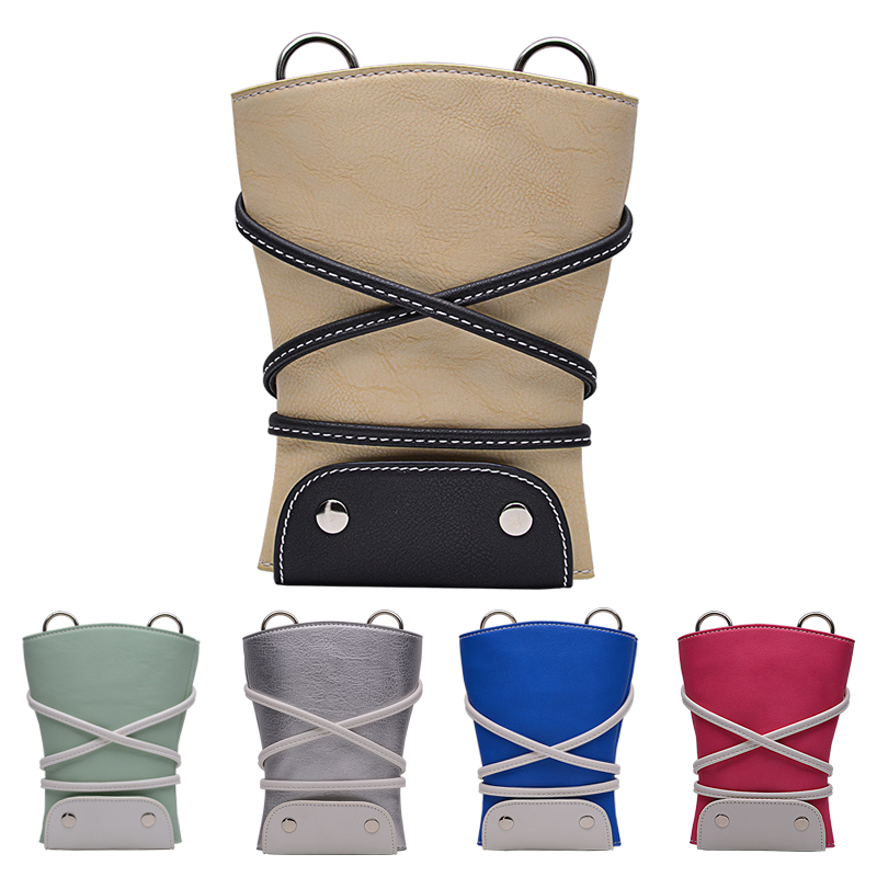 Hairdresser PU Leather Barber Scissor Bag Salon Hairdressing Holster Pouch Case Holder Hair Styling Tools Waist Shoulder Belt high quality pu leather barber hair scissors bag case salon hairdressing holster pouch case hair styling tools