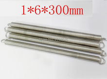 1*6*300mm metal 304 321 316 stainless steel torsion extension tension spring springs hardware