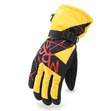 New Arrived Men Ski Gloves Waterproof Snowboard Gloves Motorcycle Riding Winter Touch Screen Snow Windstopper Glove