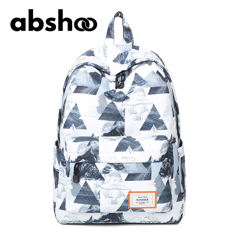 Abshoo Fashion 3D Printing Backpack Women Bagpack School Backpacks For College Students School Bags For Teen