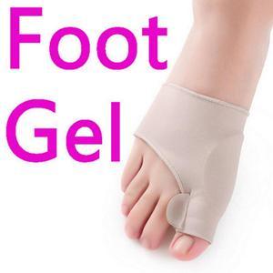 Image 3 - 1Pair Silicone Pad Hallux Valgus Orthotic Correction Sleeves Foot Care Bunion Big Toe Separators Corrector Sleeves
