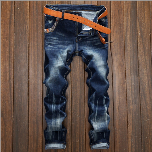 Italian Design Men Jeans Dark Blue Denim Stripe Jeans Mens Pants  Buttons Motor Biker Jeans Men Street Ripped Jeans 089090 napapijri guji check dark blue