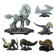 Monster Hunter World Action Figure PVC Models Hot Kirin Dragon Decoration Toy Model Collection Gift