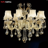 Top K9 Crystal Chandelier Bedroom Dining Room Living Room Lighting Fashion Crystal Lamp Modern Chandelier