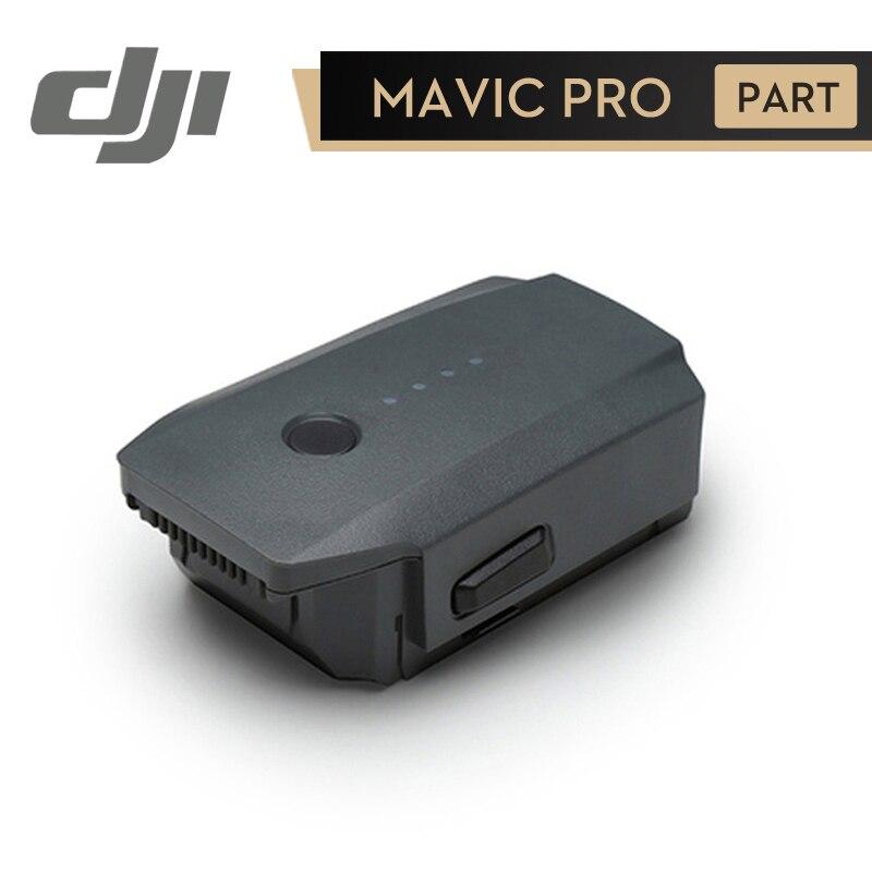 DJI Mavic Pro Batterie Intelligente Vol Batterie pour Mavic Pro Pièces D'origine Accessoires 3830 mAh 11.4 V