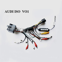 New Hot Special ARKRIGHT Wiring Harness Cable For AUDI Radio Head Unit Adaptor
