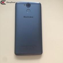 New Original Battery Cover Back Shell Whit Fingerprint Sensor Button For Blackview P2