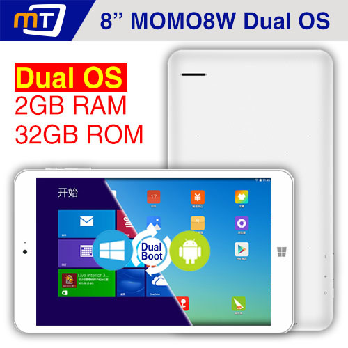 8 inch Ployer MOMO8W Dual OS Tablet PC Intel Z3735F Quad Core Windows 8.1+Android 4.4 8Inch IPS 2GB 32GB WIFI HDMI Tablets Boot - Shenzhen Mechanician Electrics Technology Co., Ltd. store