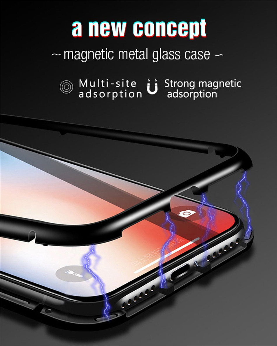 iphone x xs max Magnetic case 04