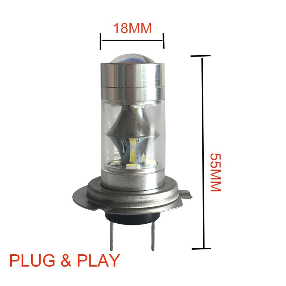 60W H7 LED llambë DC 12V ~ 24V 360 shkallë të udhëhequr me çip - Dritat e makinave - Foto 4