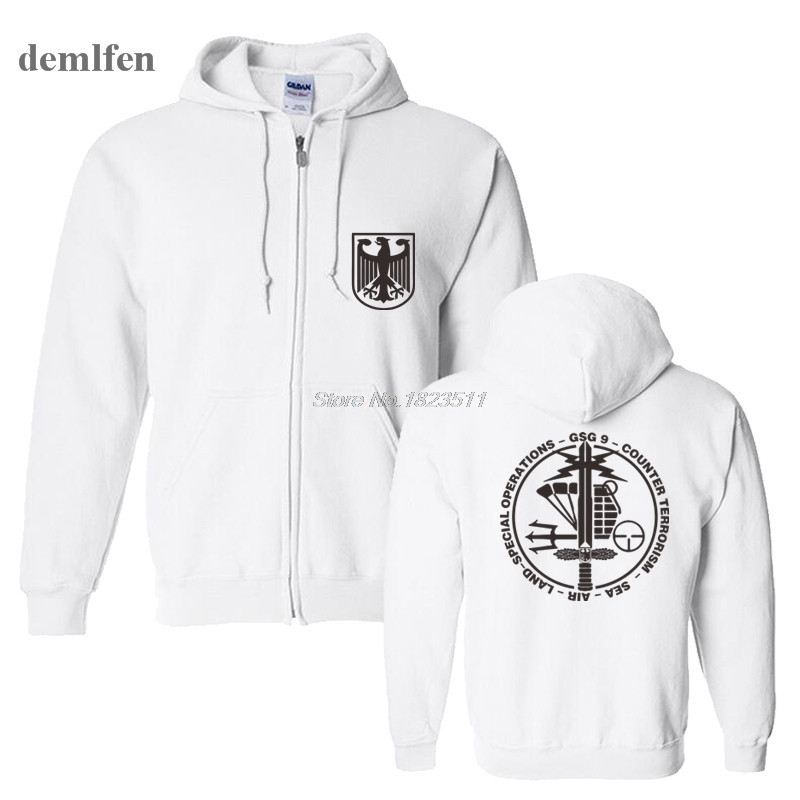 Online Shop Mens GSG 9 Police German Counter Terrorism Special Operations  Unit Cotton Sweatshirts Hoodies Coat Hoodied Pullover Hoodie  62758e072