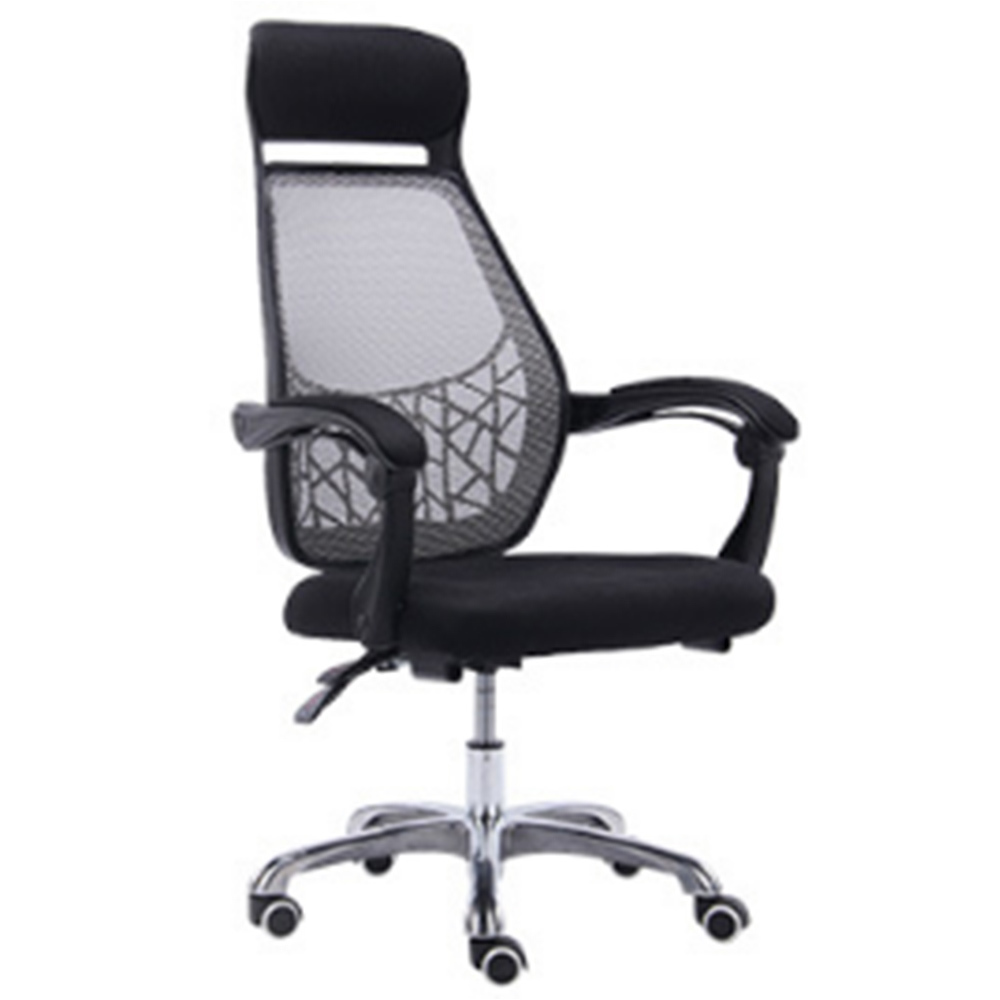 Quality Chair Household To Work In An Office Chair Student Lift Swivel Chair Ergonomic Lay Net Cloth Chair Staff Member Chair the silver chair