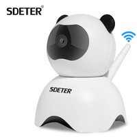 SDETER 720P Wireless CCTV IP Camera Home Surveillance Security Camera Wifi IR Night Vision Motion Detection