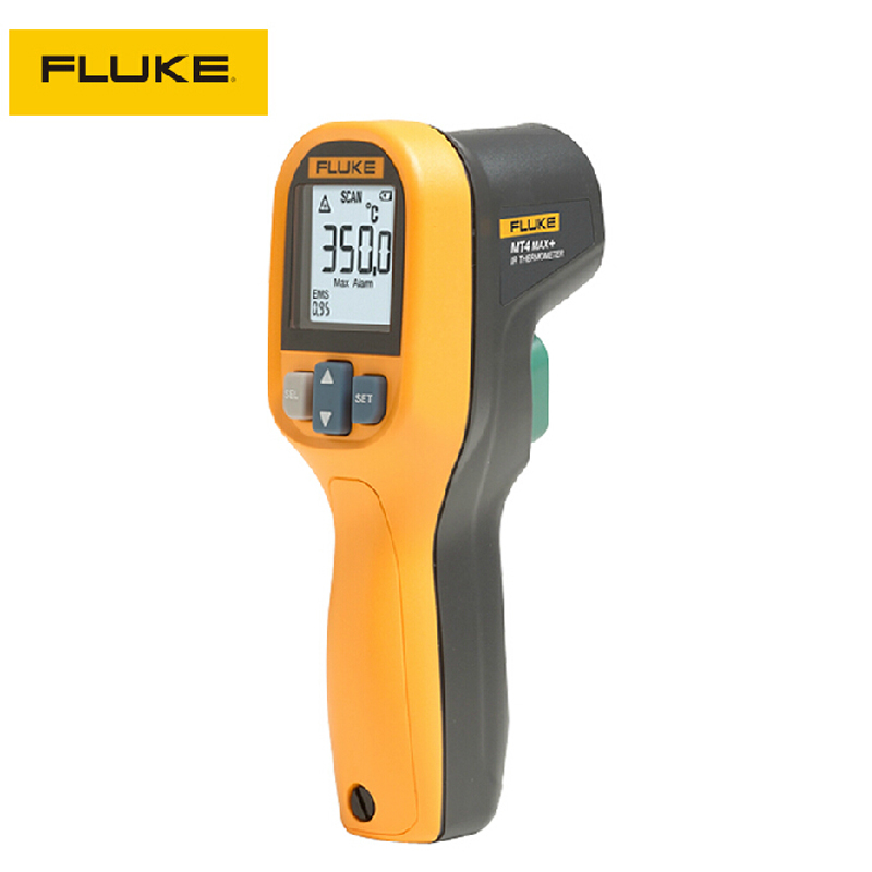 ФОТО Original MAX Mini handheld Laser Infrared Thermometer Gun -30 To 350C 100% Fluke brand Hand-held infrared thermometer