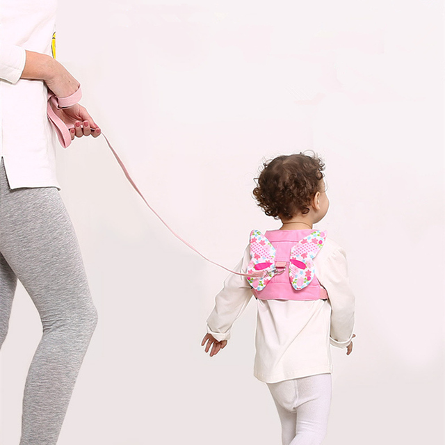 Cute Angel Style Children Safe String 1.5 Meters Long Cord Traction Rope Anti Lost Baby Children Safety Belt