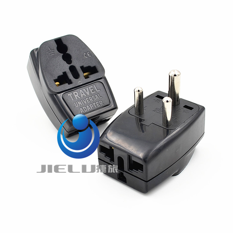 2016   Type D Travel Adapter With 3 Power Outlet Black Color 1 TO 2 TO UK US AU   Wall Socket Power Plug 1 to 3 INDIA, Sri Lanka ]special places to stay india and sri lanka kristi