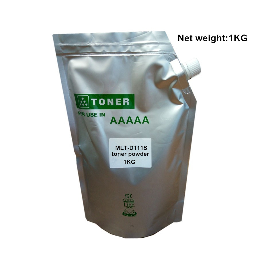 Compatible 1KG Toner powder MLT-D111S MLT- D111S 111S D111 for Samsung M2020/M2020W/M2021/M2021W/M2022/M2022W/M2070/M2070W powder for samsung mlt d104 s xil powder for samsung mlt 104 s xaa powder black compatible toner powder free shipping