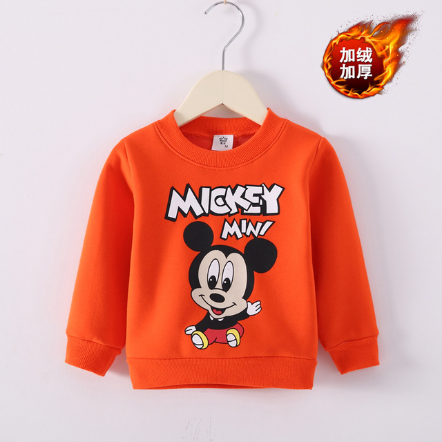 2dabd1153 Mickey Mouse Clothing Toddler Girl Sweater Kids Sweater Little Girls  Clothing Boy Clothes Winter 2018 Hot Sale Children Clothing