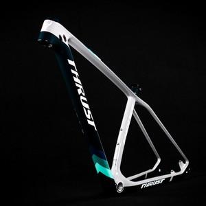 Image 2 - Упорный велосипед, китайская карбоновая рама для горного велосипеда 29er, горный велосипед, 29запасные детали для велосипеда, углепластик рама 142*12 или 135*9 мм, велосипедная Рама
