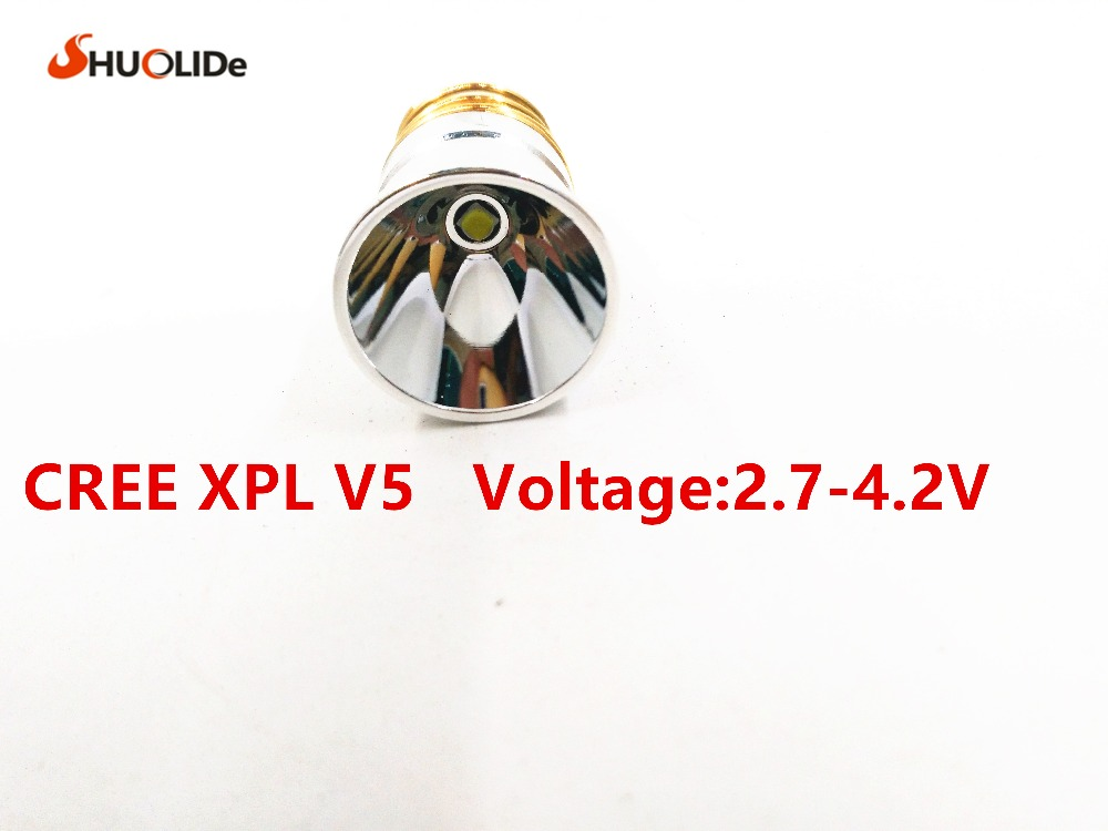CREE XPL V5 Bulb flashlights spare bulb,1-5Mode 2.7-4.2V for Surefire C2 Z2 P60 P61 6P 9P G3 S3 D2, Ultrafire 501B 502B 503B L2