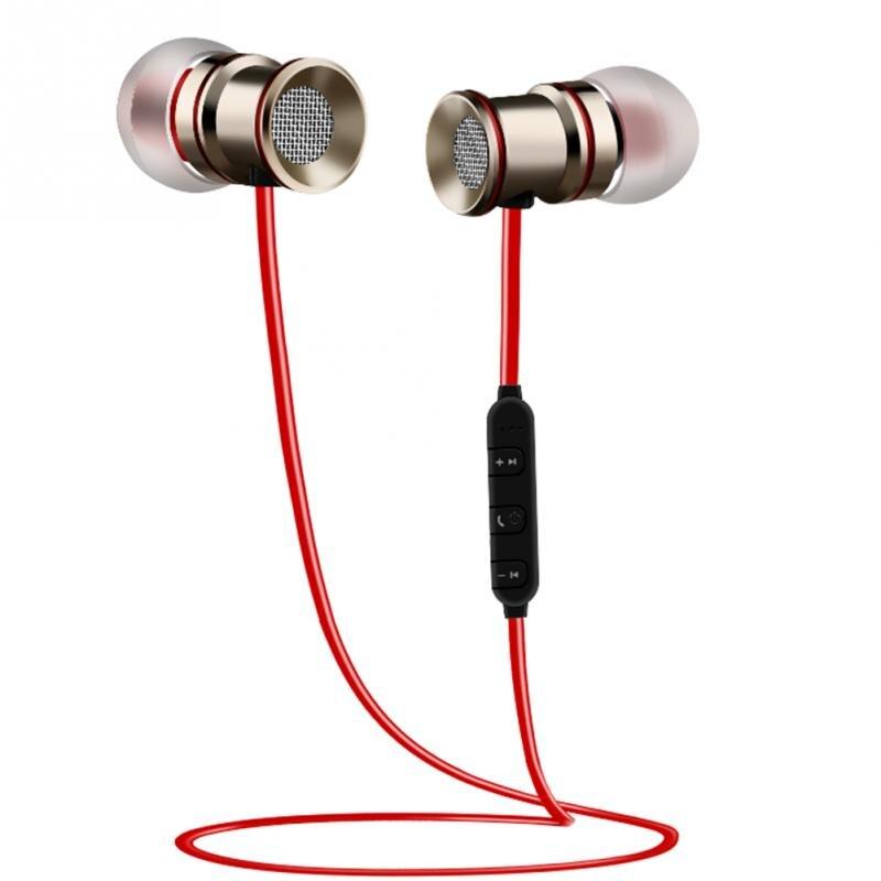 2018 sport Übung Musik Kopfhörer Magnetische Bluetooth Kopfhörer ...