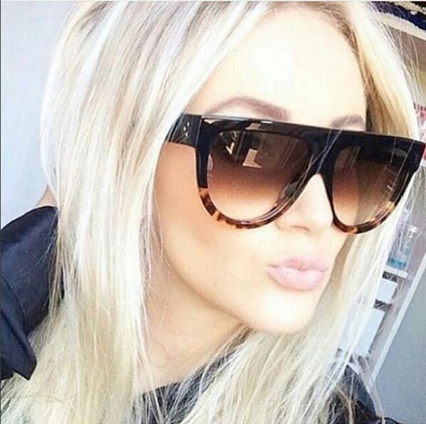 HTB1eG2FQpXXXXanapXXq6xXFXXXt - Flat Top Retro Tortoise Shadow Women's Sunglasses