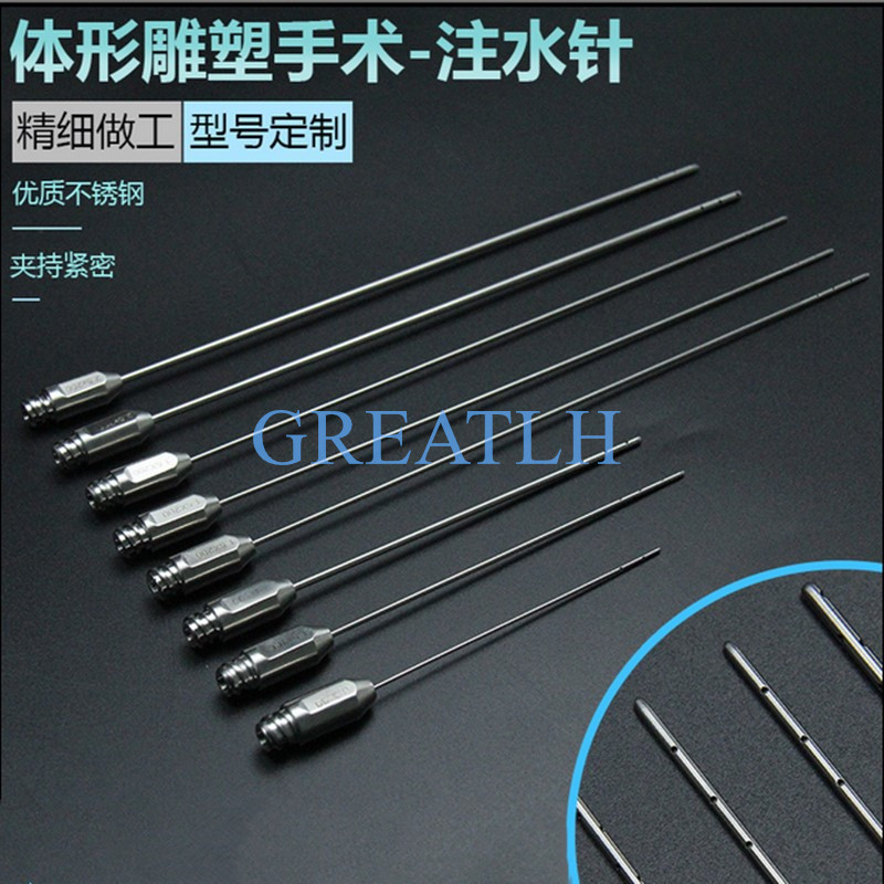 1pcs Stainless Steel Water Injection Needle Plastic Surgery For Aesthetic Facial Restoration High Quality